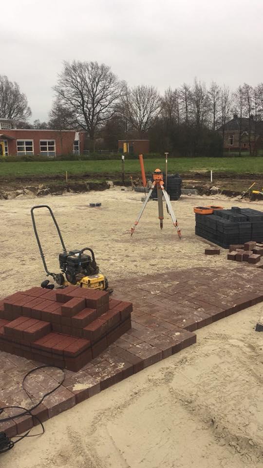 Project 'Werklust', grond- en straatwerk voor nieuwbouwplan